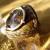 mi亞-革指輪+真鍮細工 『 Pietersite 』