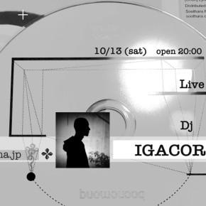 『 dj- IGACOROSAS 』 『 live- M.R.O.O 』10/13